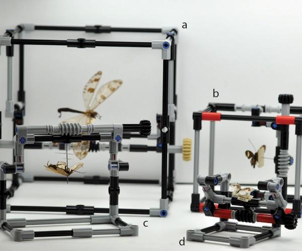 LEGO Pinned Insect Specimen Manipulator: Entomolego