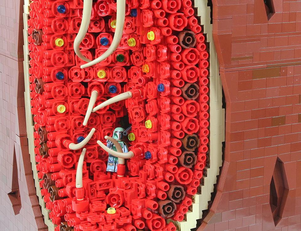 LEGO MOC Imagines Boba Fett's Escape from the Sarlacc ...