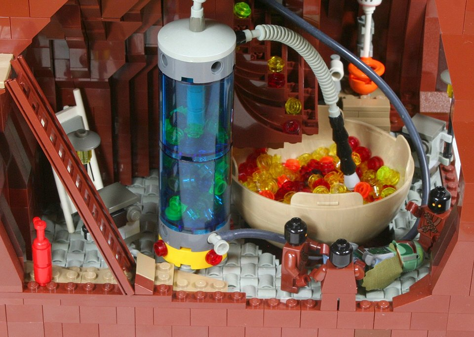 LEGO MOC Imagines Boba Fett's Escape from the Sarlacc ...