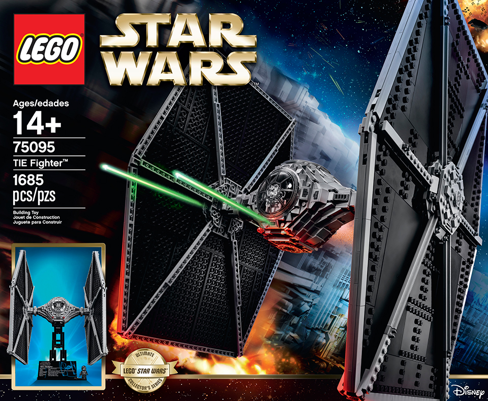 LEGO UCS Star Wars TIE Fighter: Eye of Sith Lords - Technabob