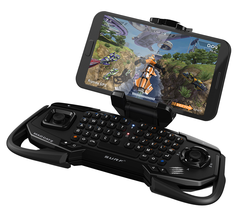 Mad Catz S U R F R Android Gamepad Amp Keyboard Full Stop