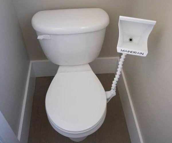 The Main Drain Puts a Urinal in Your Bathroom: The Lazy Man's Toilet
