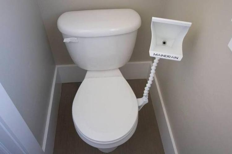 Basically, This Is For The Extremely Lazy Pee Er, Because It Can Be Used  Even When The Toilet Lid Is Down. The Articulating Hose Allows It To Be  Adjusted To ...