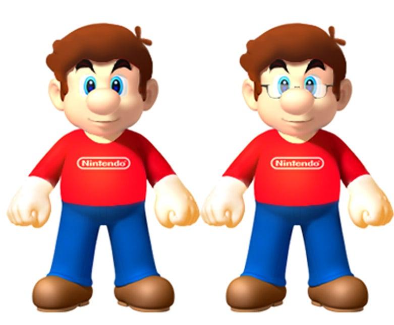 Luigi Wouldn't Recognize Mario Sans Mustache and Hat ...