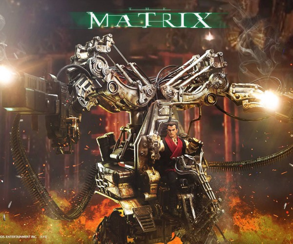 Matrix Threezero Armored Personnel Unit is Ready to Take on Tiny Squiddies