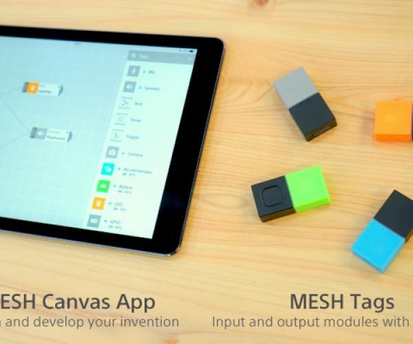 Mesh Bluetooth Electronics Kit with Drag & Drop Programming: Pair, Swipe, Make