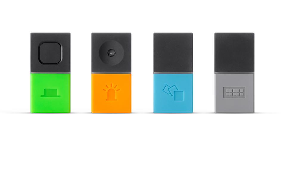 Mesh Bluetooth Electronics Kit with Drag & Drop Programming: Pair ...