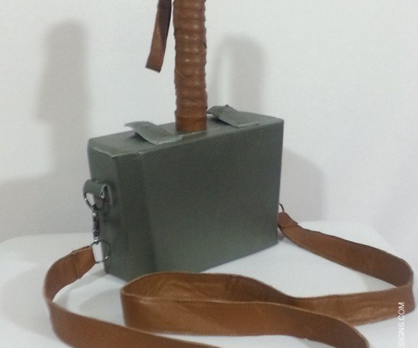 Thor's Mjölnir Purse: Strong Enough for a Man, but Made for a Woman