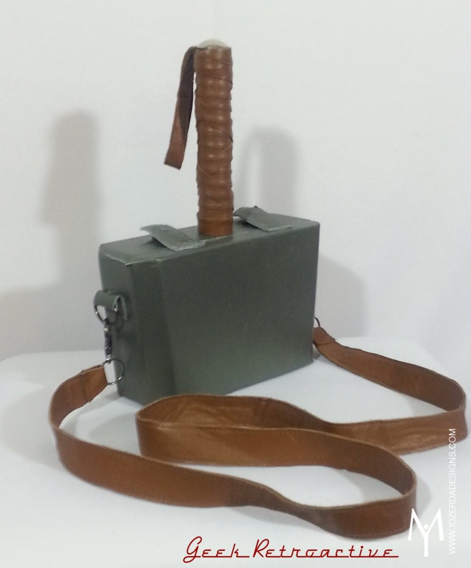 Thors Mjölnir Purse Strong Enough For A Man But Made For A Woman