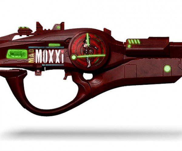 Borderlands 2 Mad Moxxi Bad Touch Full Scale Replica Has Lots of Moxie
