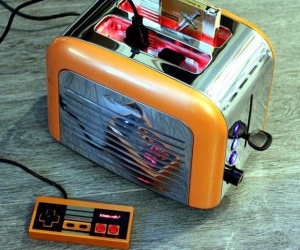 Nintendo Toast Console: Nintoaster Retro Edition