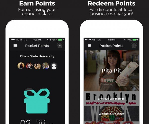 Pocket Points iOS App Rewards You for Not Looking at Your Phone: Fight Fire with Fire