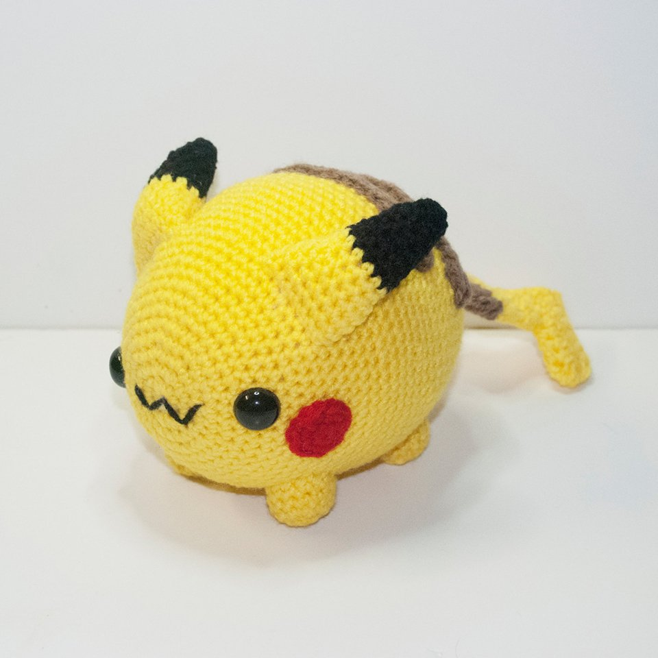 Amigurumi Pokemon Instructions : crochet GIZMODO.cz