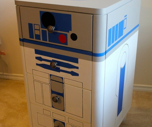 R2-D2 Dresser: Hide the Death Star Plans Next to Your Underwear