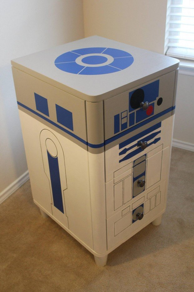 R2 D2 Dresser Hide The Death Star Plans Next To Your