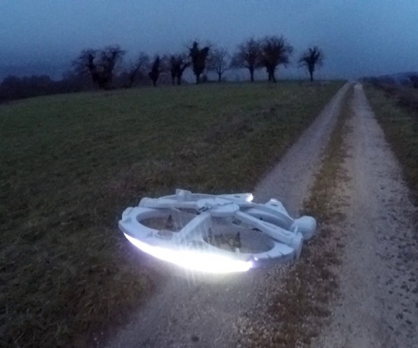 Remote-Controlled Millennium Falcon Does the Kessel Run in 12 Millennia