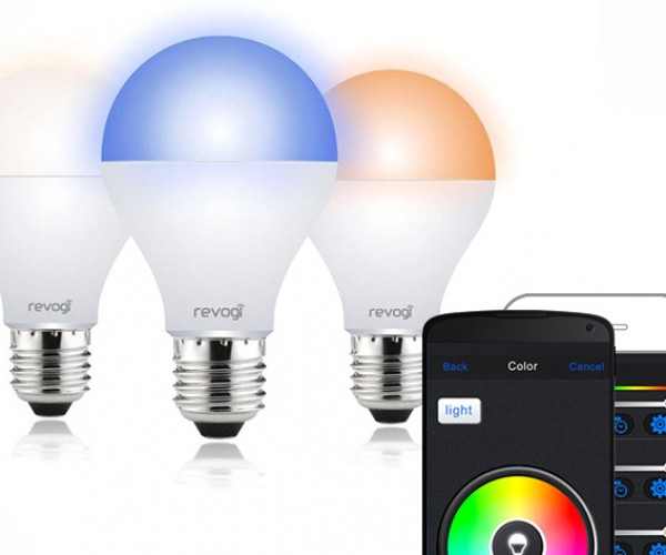 Set the Mood from Your Phone with This Color-Changing, Dimmable Smart Bulb