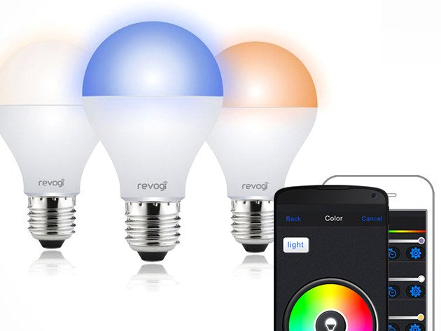 Set the mood from your phone with this color changing dimmable smart bulb technabob Smart light bulbs