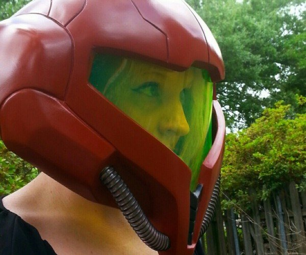 Metroid Samus Helmet: Are You Looking at My Headgear, Kraid?