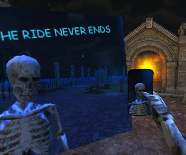 Spooky Selfie is the Most Pointless Game Ever