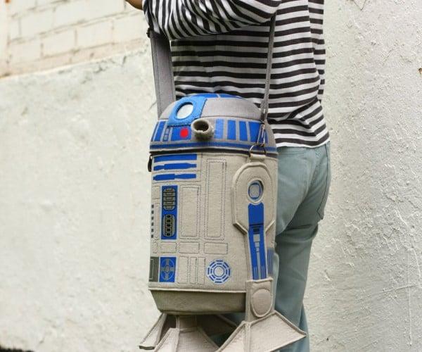 R2-D2 Felt Purse: A Real Bag of Tricks