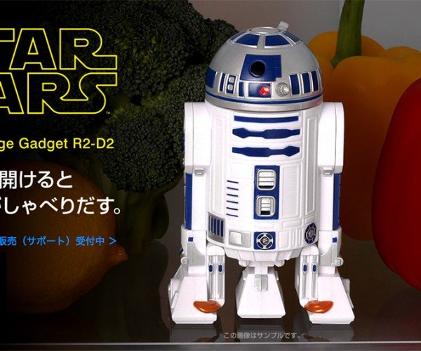 R2-D2 Fridge Guard Bleeps to Prevent Bloops