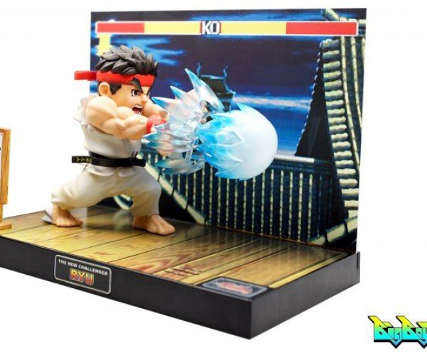 Street Fighter II Ryu Light-up Diorama Will Hadouken Your Money