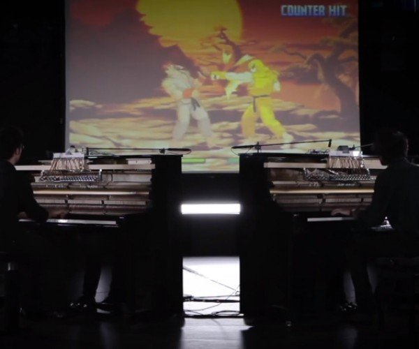 Street Fighter Played with Pianos: Sound Fighter