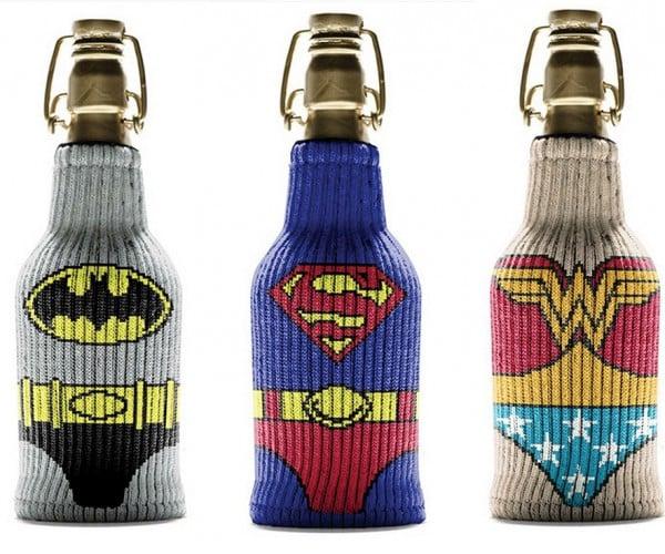Superhero Bottle Koozies to the Rescue!