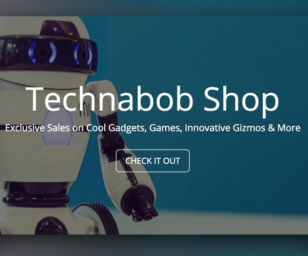 Introducing The Technabob Shop