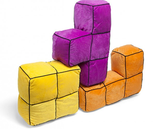 Tetris Cushions are Perfect for Cushion Forts