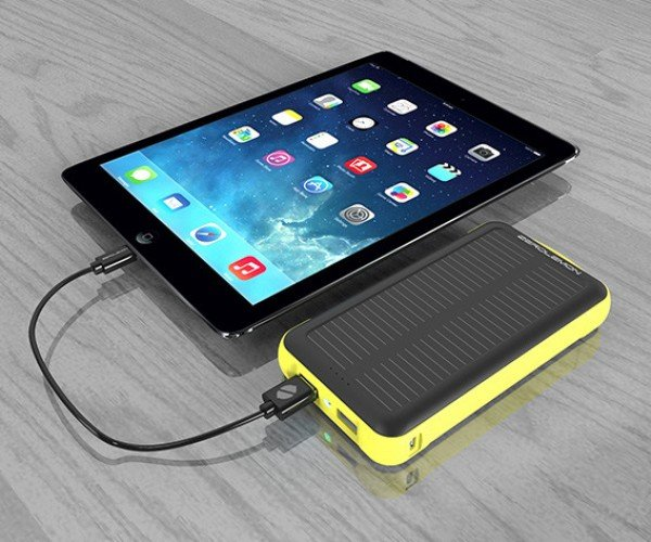 Save 50% on This Shockproof, Rain-Resistant, External Battery w/ Solar Charging