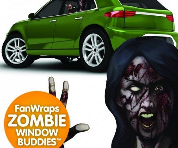 Zombie On Board Decals