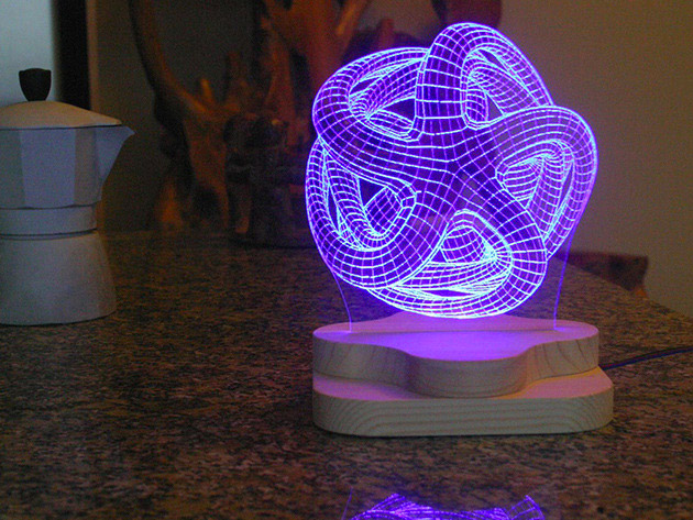 Save on This Awesome 3D-Illusion Lighting Sculpture ...
