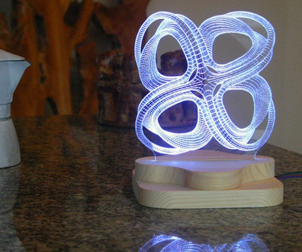 Save on This Awesome 3D-Illusion Lighting Sculpture