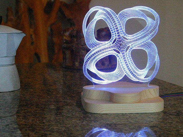 Save On This Awesome 3d Illusion Lighting Sculpture