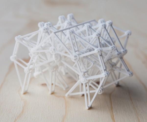 3D Printed Strandbeest: Still Alive