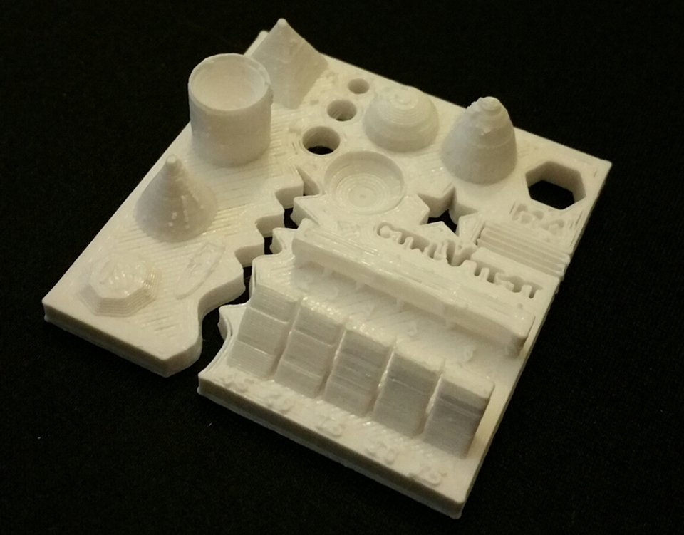 All In One 3d Printer Test File The Xyzs Of Printing