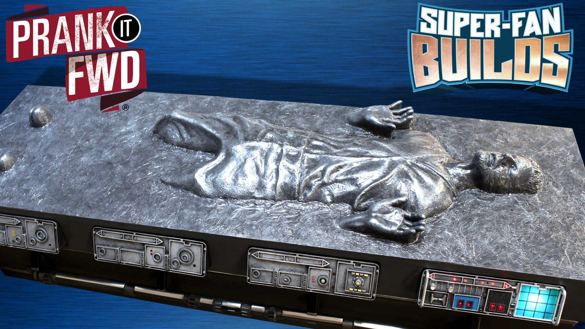 Han Solo Carbonite Coffin Coffee Table ly from IKEA Cloud City