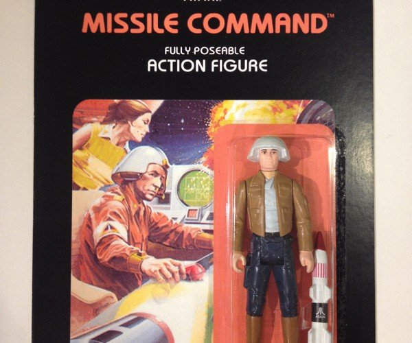 Custom Atari 2600 Action Figures Actually Match the Cover Art