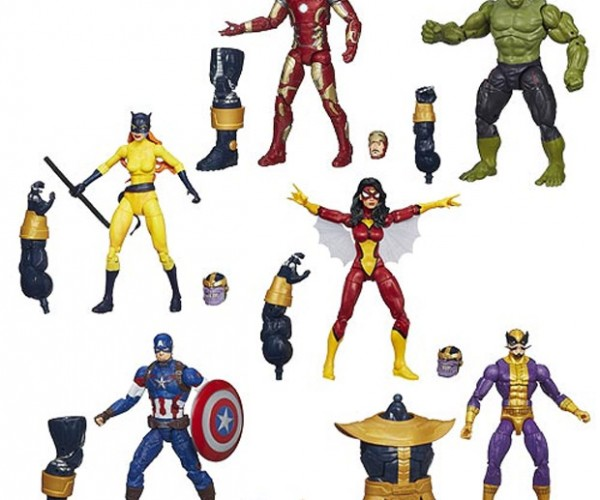 Avengers Marvel Legends Action Figures: Thanos, Assemble!