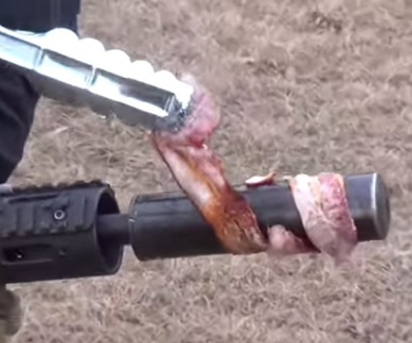 Guy Cooks Bacon by Firing an M16