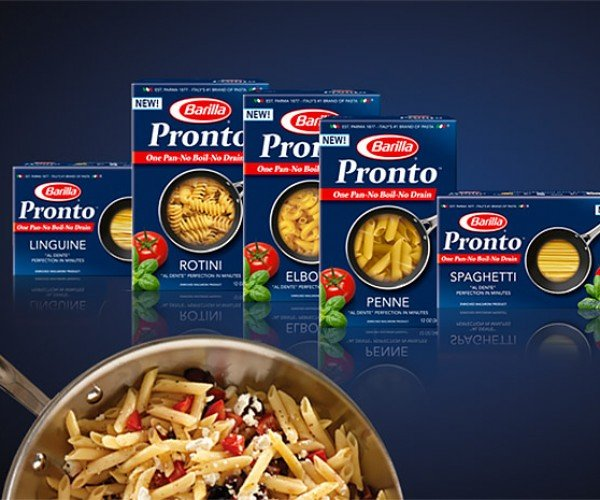 Barilla Pronto Pasta: The Lazy Man's Noodle