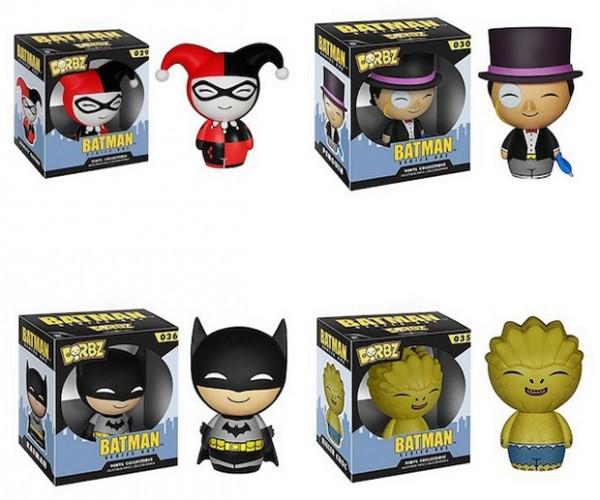 Funko Dorbz Batman Figures: DC Dorbz