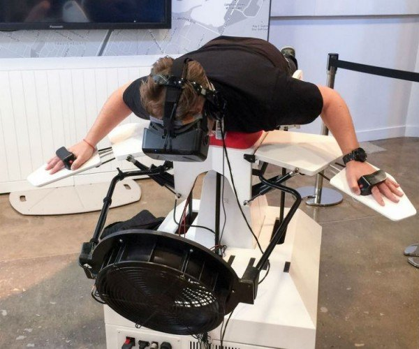 Birdly Uses the Oculus Rift So That You Can Be the Bird
