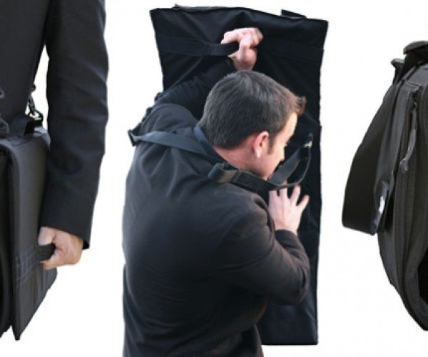 This Briefcase Is Also a Bulletproof Shield