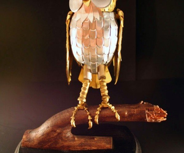 Bubo Robot Owl Replica from Clash of the Titans