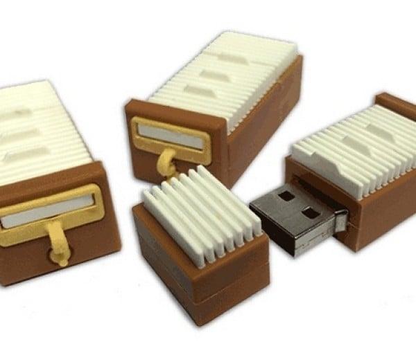Card Catalog USB Drive: Dewey Digital System
