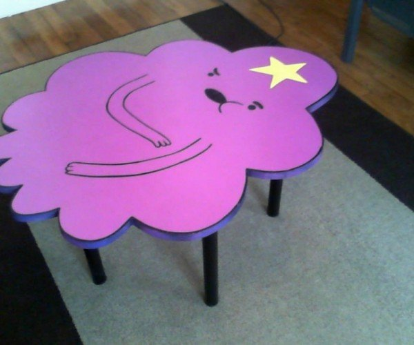 Lumpy Space Princess Coffee Table: Oh My Glob, Guys!