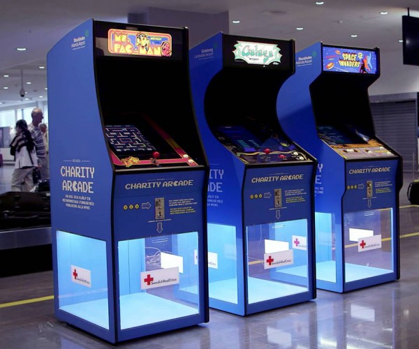 Charity Arcade Accepts Any Coin Currency as Tokens: Insert Care
